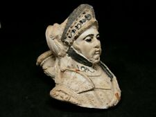 ANCIENNE PIPE D ETALAGE EMAILLEE GAMBIER REPRESENTANT LE CHEVALIER BAYARD