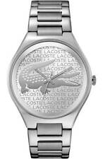 Lacoste Women's Valencia Analog Display Quartz Silver Watch 2000931 $195