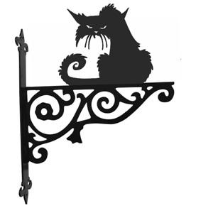 Cat Metal Ornamental Hanging Basket