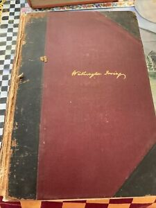 Washington Irving Astoria Oliver GoldSmith VOLUME Vll Early Edition New York Put