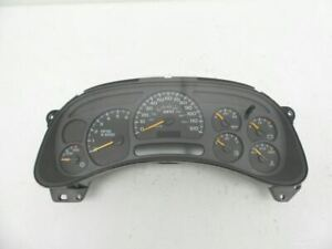 Speedometer Cluster US ID 15135669 Fits 03-05 AVALANCHE 2500 534596