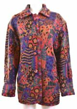 MISSONI Womens Coat Size 18 XL Multicoloured Vintage BE19