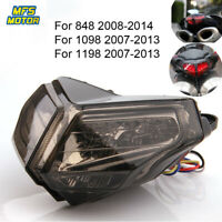 LED Tail Brake Light For Ducati 1098 1098R 1098S 848 EVO Corse SE 1198R/S 2011 .