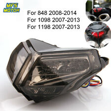 LED Tail Brake Light For Ducati 1098 1098R 1098S 848 EVO Corse SE 1198R/S 2011 .