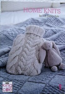 KING COLE'S HOME KNITS  BOOK BY SUE BATLEY-KYLE