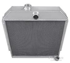 """1949-1952 Plymouth Special Deluxe Aluminum 3 Row Champion Radiator & 16"""" Fan"""