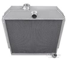 "1949-1952 Plymouth Concord Aluminum 3 Row Champion Radiator & 16"" Fan"