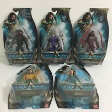 Dc Aquaman Movie 6 in. Action Figures Set Of 5 Complete Set Mattel Brand New.