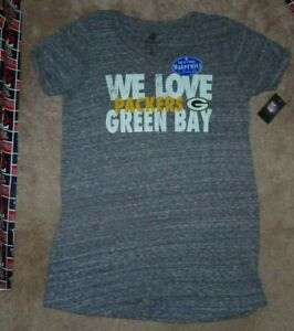 NEW NFL Green Bay Packers Maternity T Shirt Women Ladies S Small 4-6 NWT