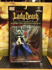 BRIAN PULIDO'S LADY DEATH ACTION FIGURE CHAOS COMICS MOORE COLLECTIBLES