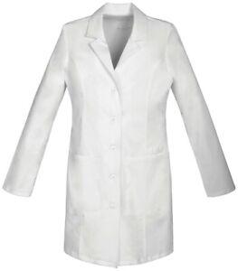 """White Cherokee Scrubs Professional Whites 35"""" Lab Coat 3XL"""