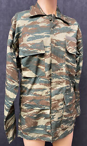 Greek Military Lizard Pattern Camouflage Combat Shirt