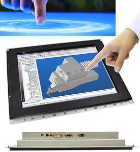 """17 """" 43cm Open Frame Monitor Screen Nexio NOP170 Irda Infrared Touch VGA DVI"""