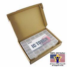 36value 1020pcs Waterclean Round Flat Top Rectangle LED Kit US Seller KITB0097
