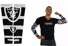 Oakland Raiders NFL Strong Arm Fan Sleeve Set Of Two