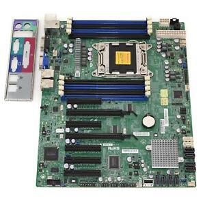 Supermicro X9SRL-F Motherboard Socket LGA2011 System Board w/ I/O Shield