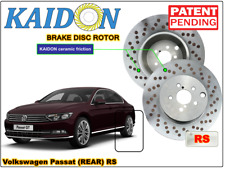 "Volkswagen Passat brake disc rotor KAIDON (Rear) type ""BS"" / ""RS"" spec"
