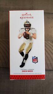 2013 Hallmark NFL Keepsake Drew Brees Football Legends Ornament!