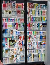4 x stock book pages of Netherlands stamps - over 400 stamps