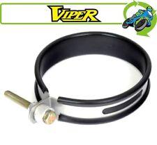 New Viper Can Strap Motorcycle Exhaust Silencer Bracket 43mm Hanger 365mm Inner