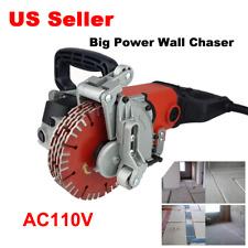 110v Wall Slotting Groove Cutting Machine Electric Concrete Slot Cutting Machine