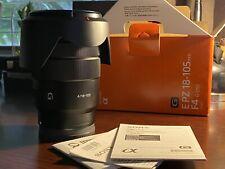 Sony APSC 18-105mm f/4 G Lens