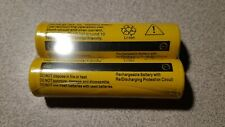 2 batteries 18650 9900mAh Li-ion Battery 3.7V Rechargeable. Canadian seller