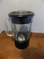 KitchenAid Blender Pitcher 40oz 5 Cup Glass Jar Black Base Lid Great Condition