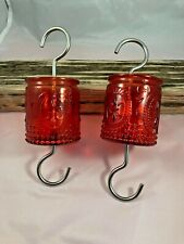 New listing Set of 2 - Glass Ant Moat for Hummingbird & Oriole Bird Feeders -Ant Trap Insect