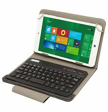 PU Leather Flip Stand Case Cover Bluetooth Keyboard for 7