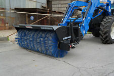 """Blue Diamond Attachments 72"""" Rotary   w/ poly bristles included"""