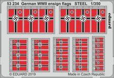 Eduard PE 53234 1/350 German WWII ensign flags STEEL