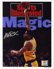 8486db39bca Magic Johnson SIGNED Sports Illustrated Print LA Lakers ITP PSA DNA  AUTOGRAPHED