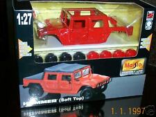 Maisto  Hummer (Soft Top)  Metal Model 1:27  DieCast