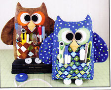 PATTERN - Handy Who - cute owl sewing buddy PATTERN