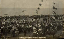 Herne Bay. Empire Day 1909 by Millgate, Publisher. Flags & Pole.