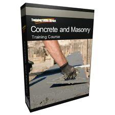 Concrete Brick Laying Bricklayer Training Book Manual