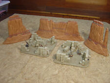 CUSTOM TERRAIN WARGAMING  PAINTED D&D MINIATURES  EGYPTIAN RUIN EXTRA LARGE