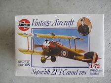 Airfix 1918 Sopwith Camel Special Edition Airplane Model Kit 1/72 NIB