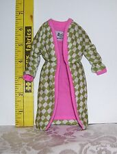 Vintage BARBIE #1643 POODLE PARADE CHECKERED COAT ONLY 1965 REPRO REPRODUCTION