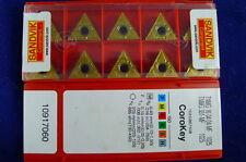 TNMG 16 04 04-MF1025 (TNMG 331-MF1025) SANDVIK CARBIDE INSERTS (Pack of 10)