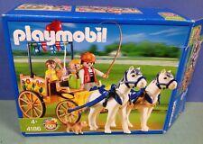 (O4186) playmobil calèche promenade enfants en boite cplt ref 4186