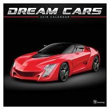 DREAM CARS - 2019 WALL CALENDAR - BRAND NEW - 755265