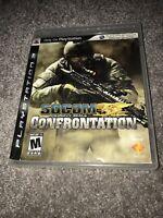 SOCOM: U.S. Navy SEALs Confrontation (Sony PlayStation 3, 2008) No Booklet