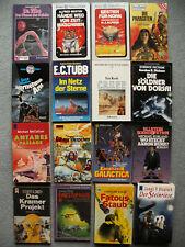 16 Science Fiction Romane div. Autoren