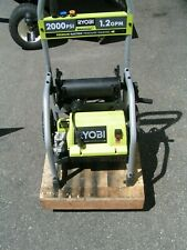 2018 Ryobi 2000psi Electric Pressure Washer Motorpump With Upper Modry141900