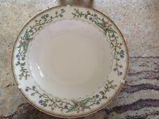 "Farberware Fine China Wellesley 486 rimmed 9"" 4 soup bowls Katherine Bobonovsky"
