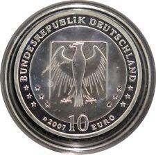 329 - 10 EUROS ALLEMAGNE 2007 D - Wilhelm Busch - argent