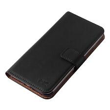 Leather Card Pocket Wallet Cases for Apple Phones