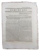 Barcelonnette 1791 Journal Royaliste L'ami du Roi Vaucluse Révolution Française